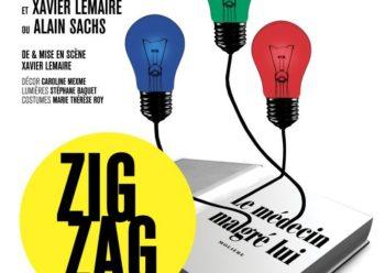 Affiche ZigZag Xavier Lemaire