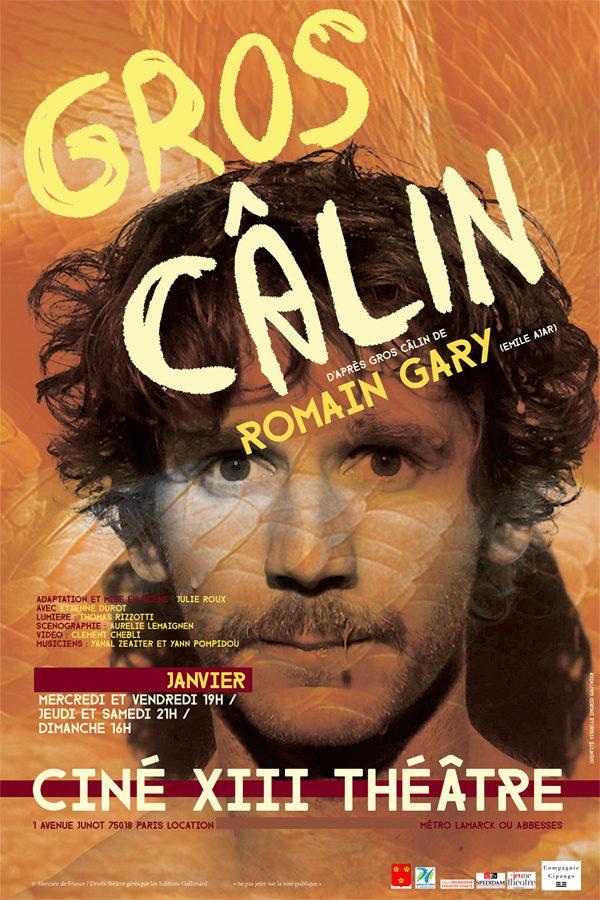 Un poignant « Gros-Câlin » de Romain Gary au Ciné 13 Théâtre.