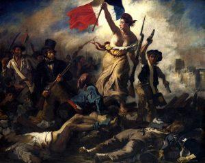 Eugène Delacroix, La liberté guidant le peuple, 1830 © Musée du Louvre / E. Lessing