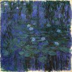"""Claude Monet, """"Nymphéas bleus"""", 1916-1919, Paris, musée d'Orsay © Musée d'Orsay, Dist. RMN-Grand Palais / Patrice Schmidt"""
