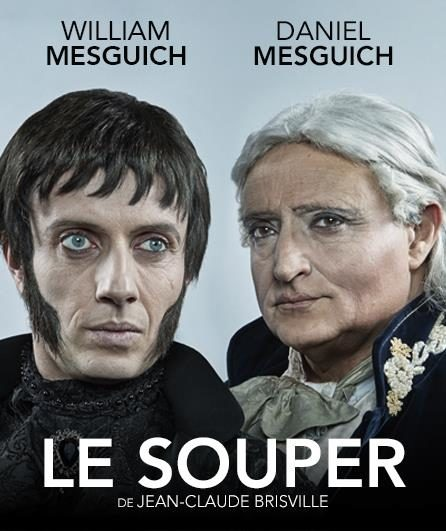 Avignon OFF, Le souper de Brisville avec Daniel Mesguich et William Mesguich.