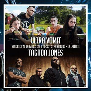 [Live report] Ultra Vomit à la Laiterie