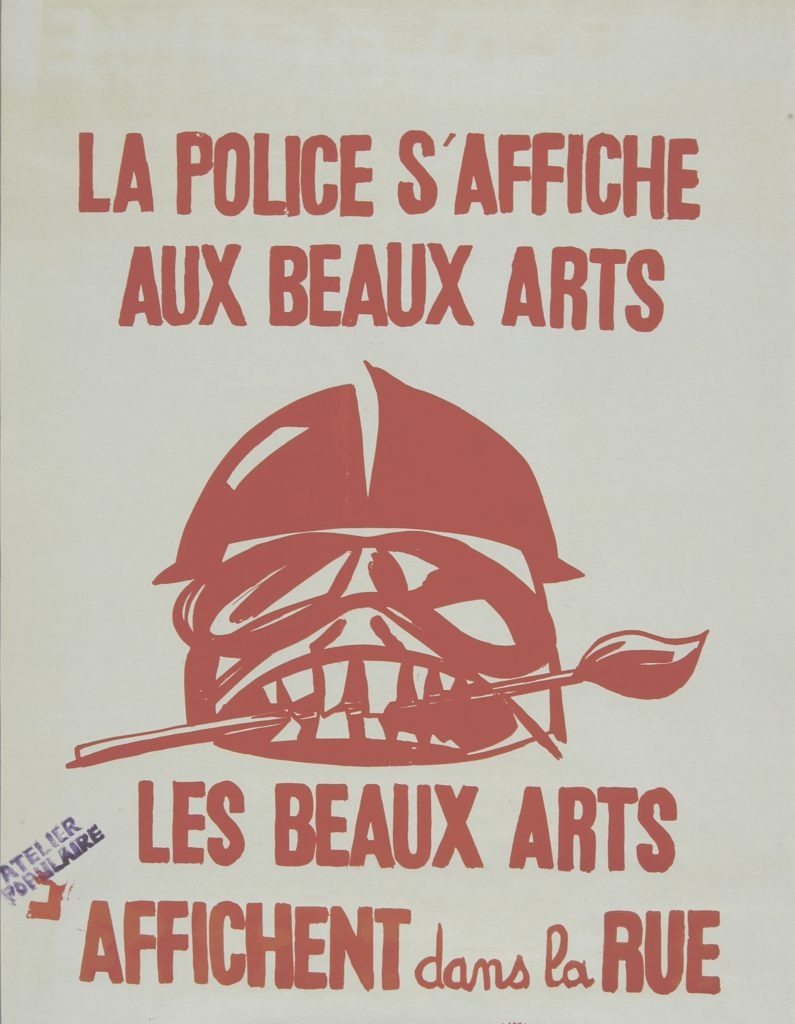 «Images en Lutte» ouvre les commémorations de 68 aux Beaux Arts