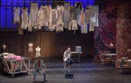 LE MYSTERE DE L ECUREUIL BLEU -  Livret et mise en scene : Ivan GRINBERG -  Direction musicale : Marc-Olivier DUPIN -  Choregraphie : Caroline MARCADE -  Scenographie : Aurelie MAESTRE -  Costumes : Alain BLANCHOT -  Lumieres : Madjid HAKIMI -  Avec :  Ronan DEBOIS (Saint Germain) -  Anna REINHOLD (Adele) -  Orchestre : Les Frivolites Parisiennes -  Le 22 02 2018 -  A l Opera Comique -  Photo : Vincent PONTET