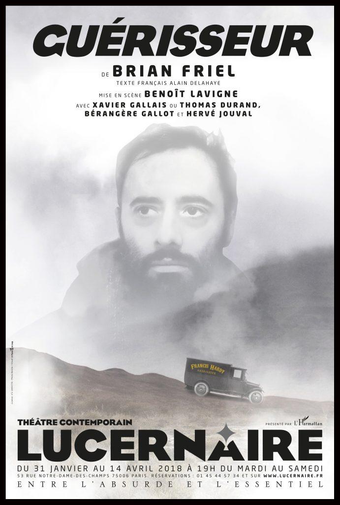 Guérisseur mis en scène par Benoit Lavigne au Théâtre du Lucernaire
