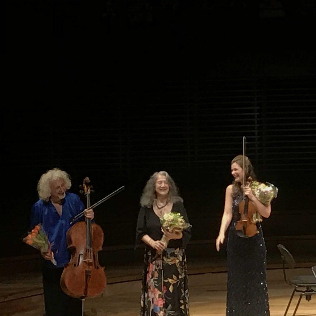Maisky, Argerich, Jansen : Trio divin à la Philharmonie