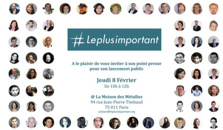 #Leplusimportant dévoile son projet pour le capital humain et publie son premier rapport sur les travailleurs des plateformes numériques
