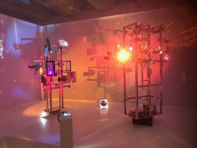 A la Redécouverte de l'art spatiodynamique de Nicolas Schöffer au Lam