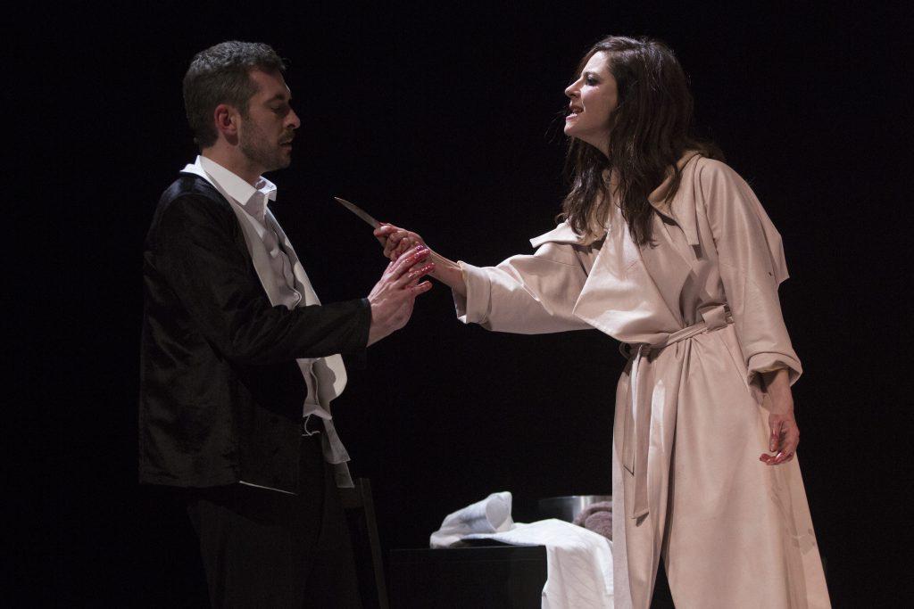 Anna Mouglalis incarne une Mademoiselle Julie du 21ème siècle