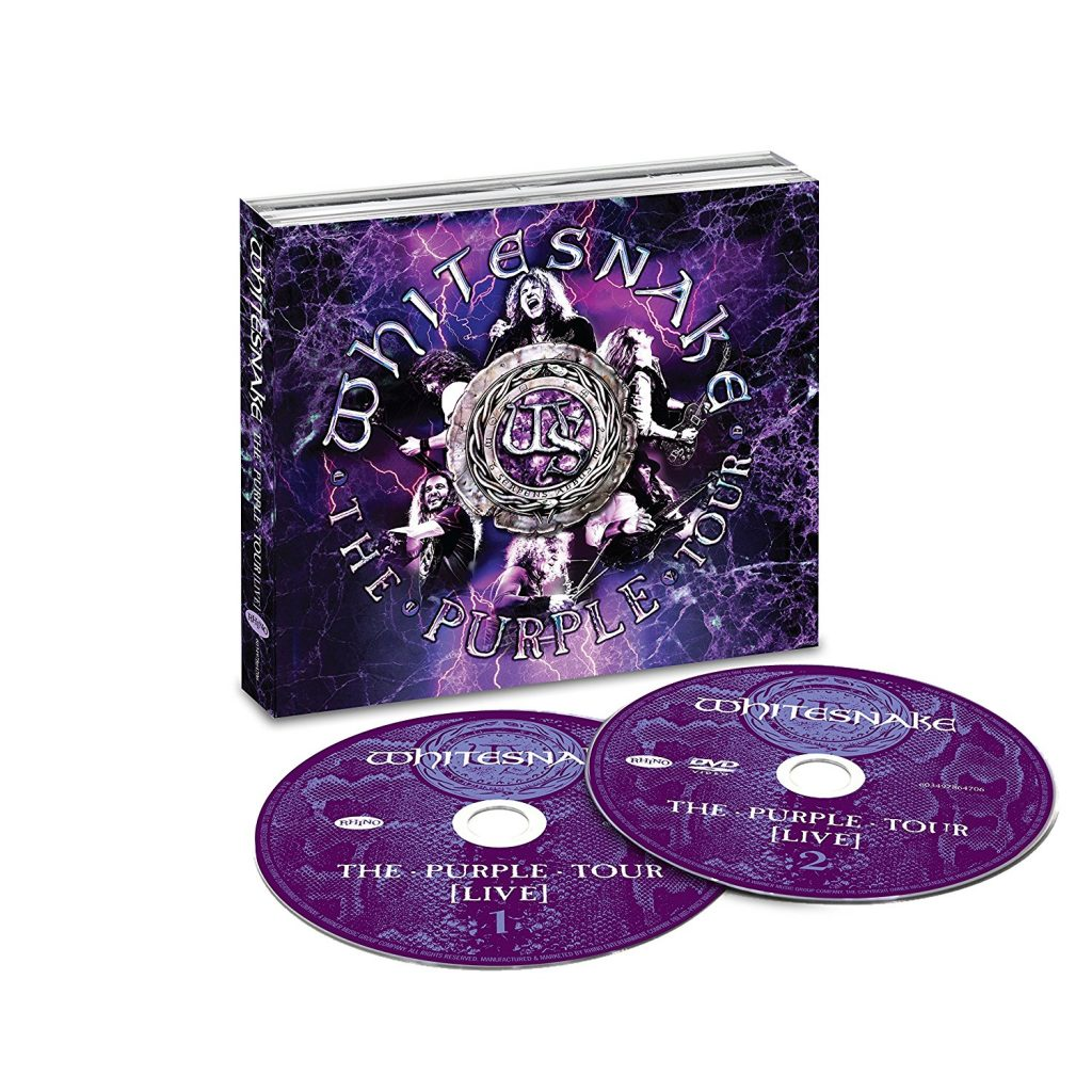 WHITESNAKE The Purple Tour (Live) : L'éclatante vitalité du hard rock britannique !