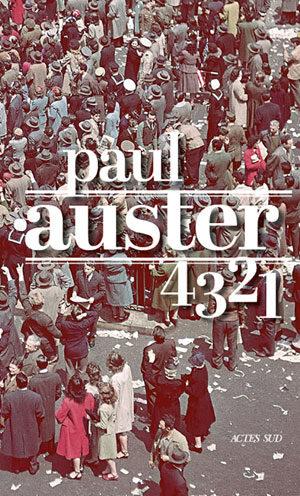 4 3 2 1, le grand roman de Paul Auster