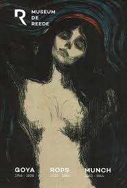Munch, Goya et Rops côtoient l'artiste Sud-Coréen Chun Kwan Young au Museum de Reede [Anvers]