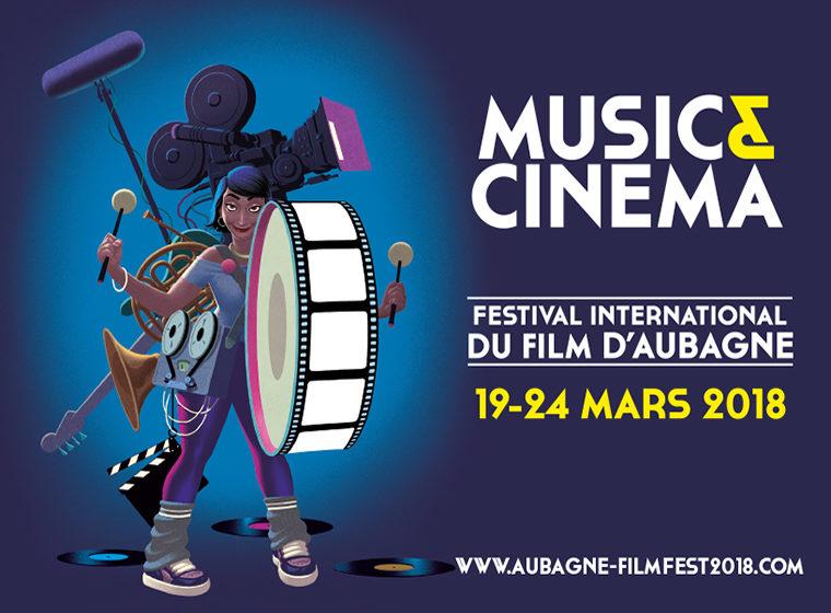 Gagnez 5×2 places + Bonus «Music et Cinéma» pour le Festival International du film d'Aubagne (19-24 mars)