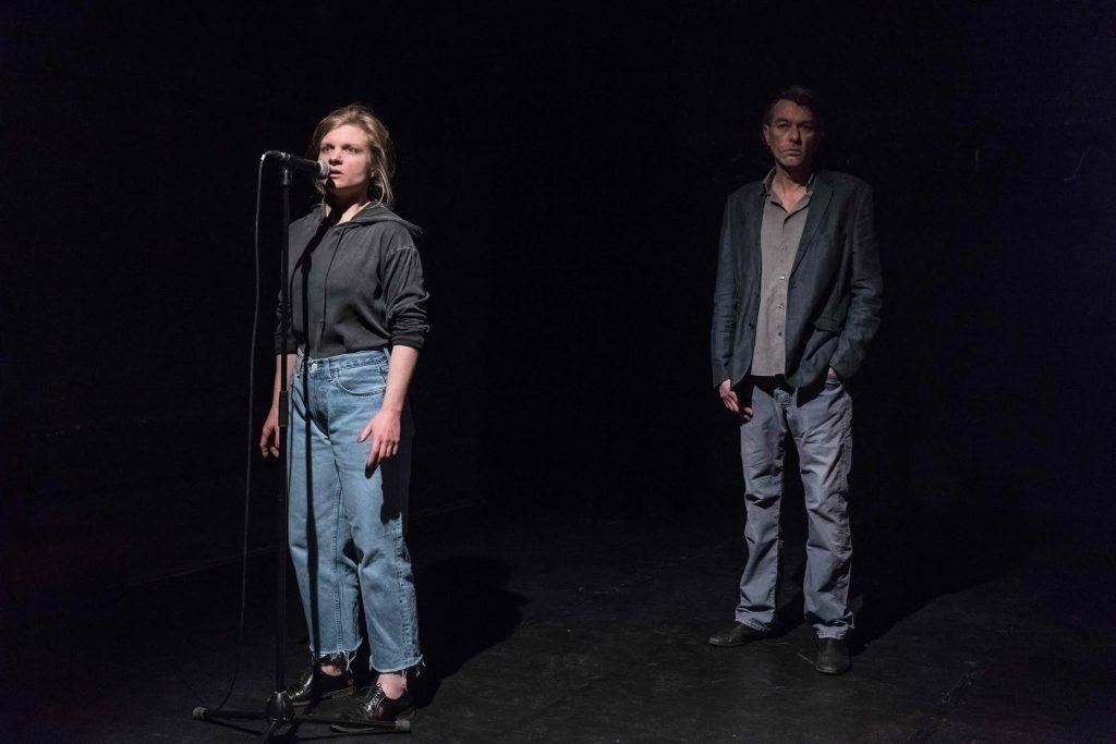 Dans les planques d'Anne-Lise Heimburger et Laurent Sauvage au Lucernaire