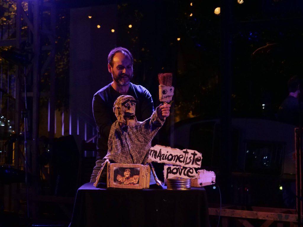 «Parias» de Javier Aranda Gracia, le magicien des Off des festivals de marionnettes
