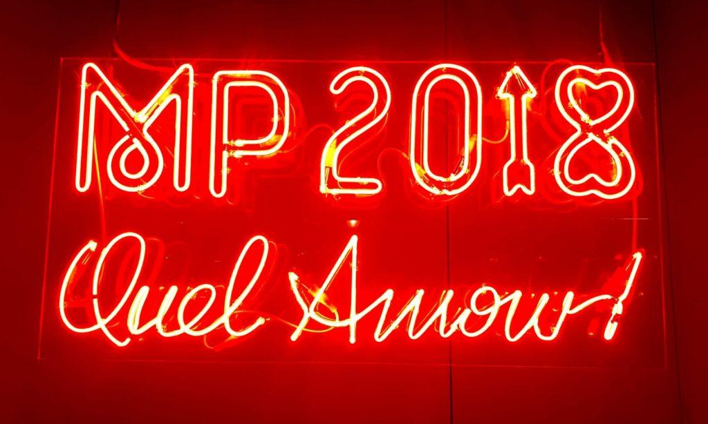 MP2018, déjà un mois d'amour…