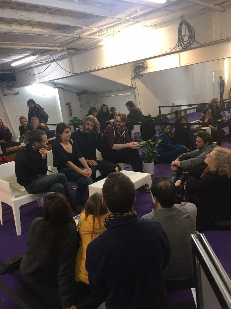 Cantarella tient Salon en ouverture de l'Etrange Cargo