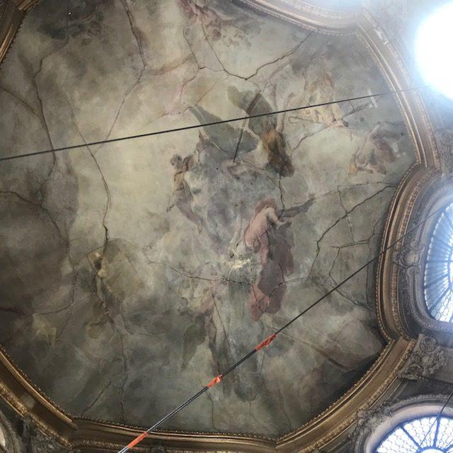 Lancement d'une souscription pour restaurer la coupole de la Bibliothèque du Lycée Henri IV
