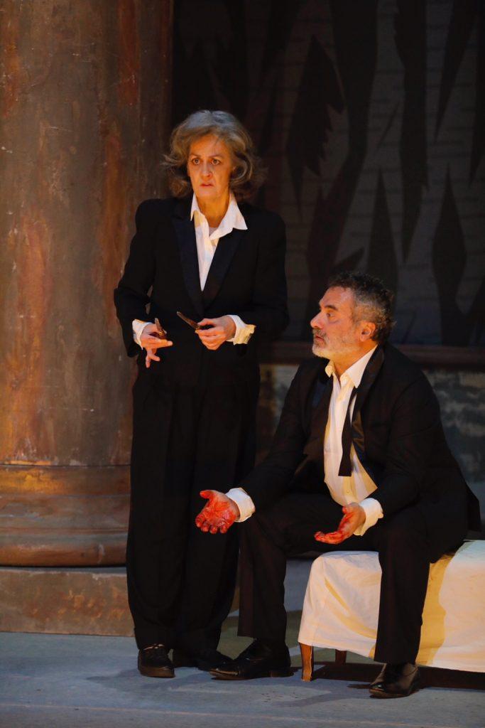 Une lumineuse Tragédie de Macbeth d'après William Shakespeare mise en scène Frederic Bélier-Garcia.