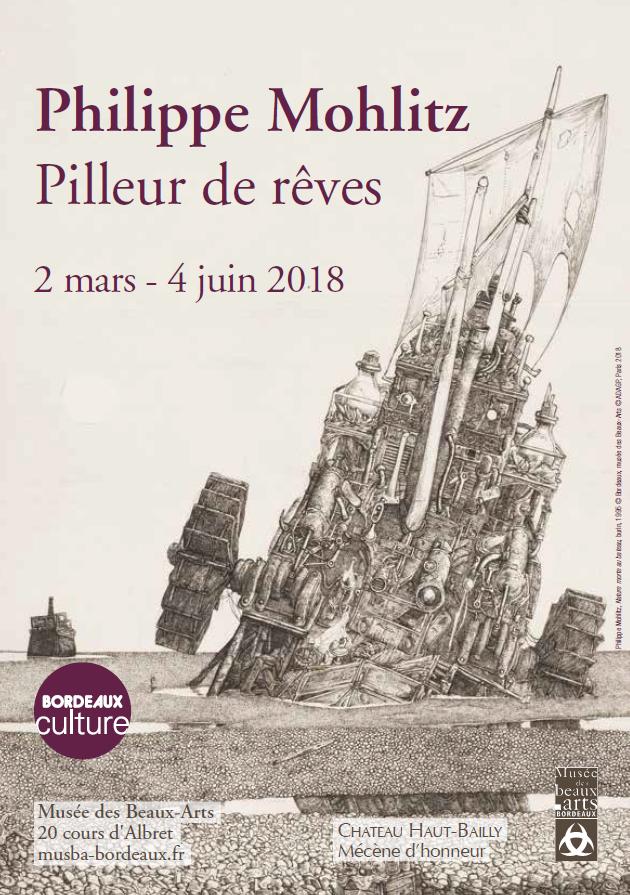 Les gravures onirique de Philippe Mohlitz au Musée des Beaux-Arts de Bordeaux
