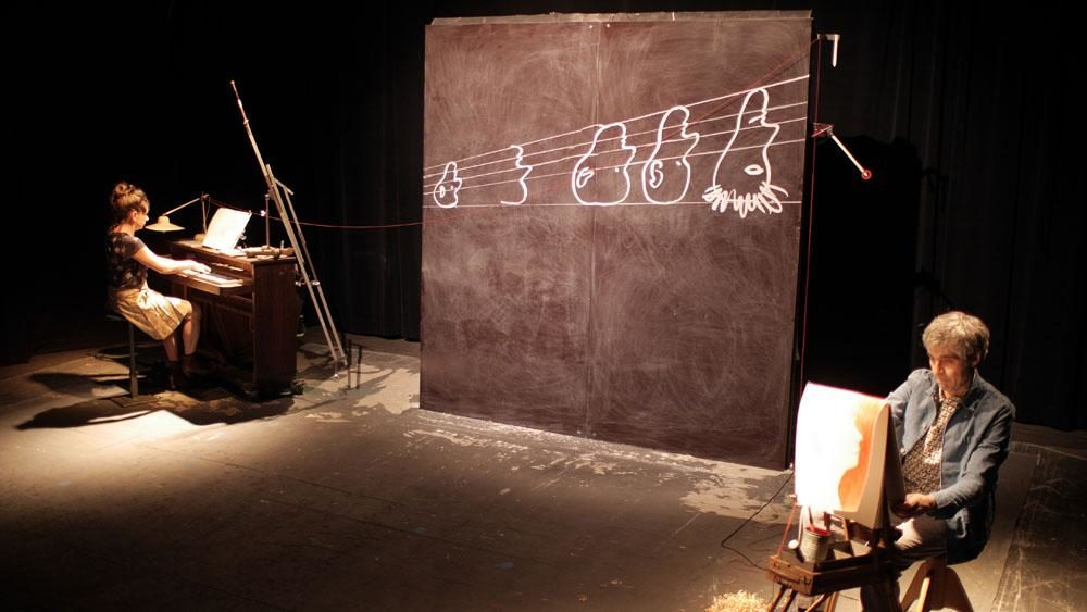 « Tremblez machines / Animal épique »: facéties abstraites au Théâtre Dunois