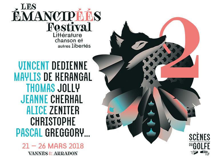 Gagnez 6×2 places pour le festival Les Emancipéés (le 22 mars, Vannes)