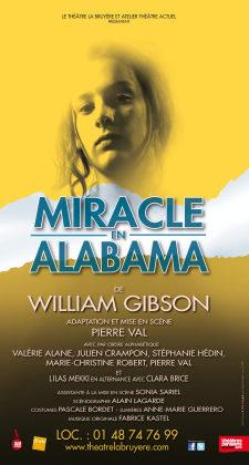 Miracle en Alabama, ou comment parvenir au langage, au Théâtre la Bruyère