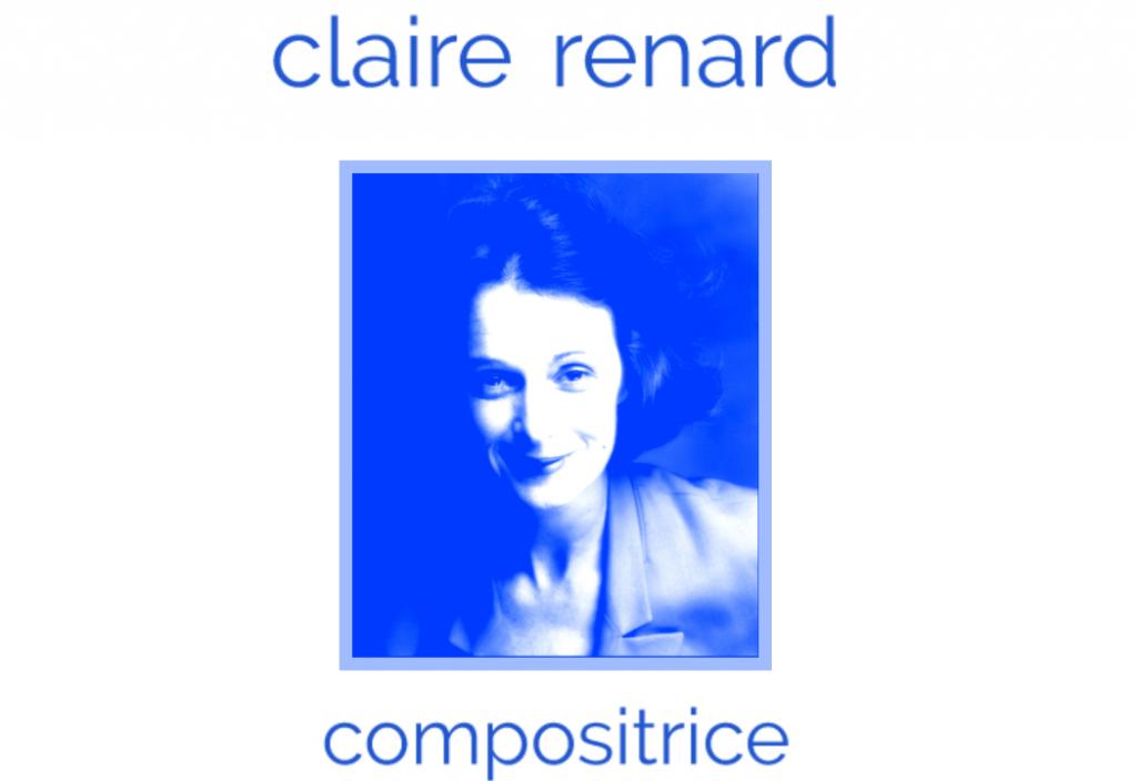 Claire Renard parle de l'Association Plurielles : «Notre but c'est de rendre visible les compositrices».