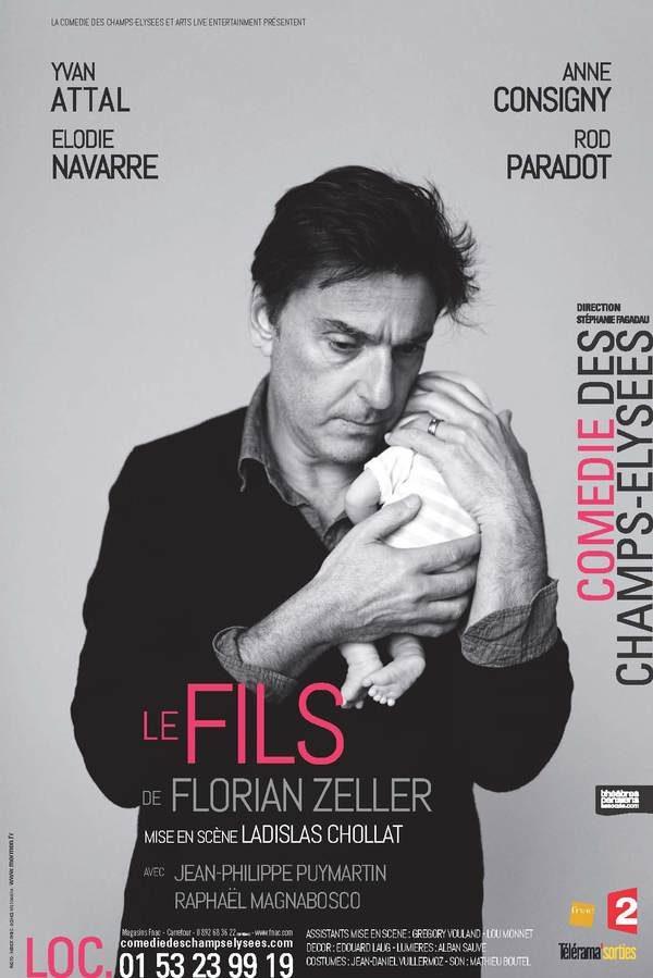Le fils, de Florian Zeller:  Yvan Attal et Rod Paradot émouvants
