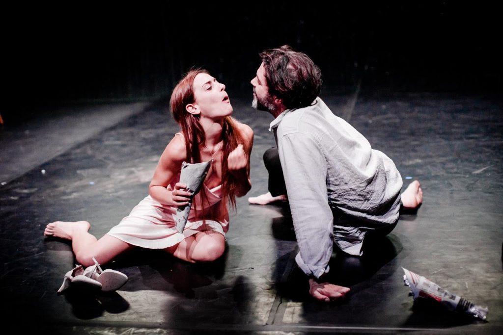 Rapture d'après Marguerite Duras mis en scène par Noémie Ksicova au Theatre de Belleville