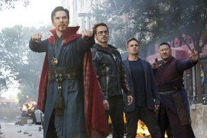 Dr. Strange, Tony Stark, Bruce Banner.
