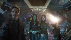 Les gardiens de la galaxie (Star-Lord, Gamora...).