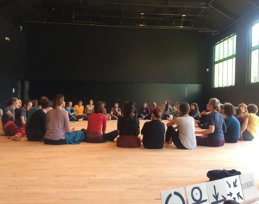 « Gestes du Contact Improvisation » à Rennes : un Musée du danser