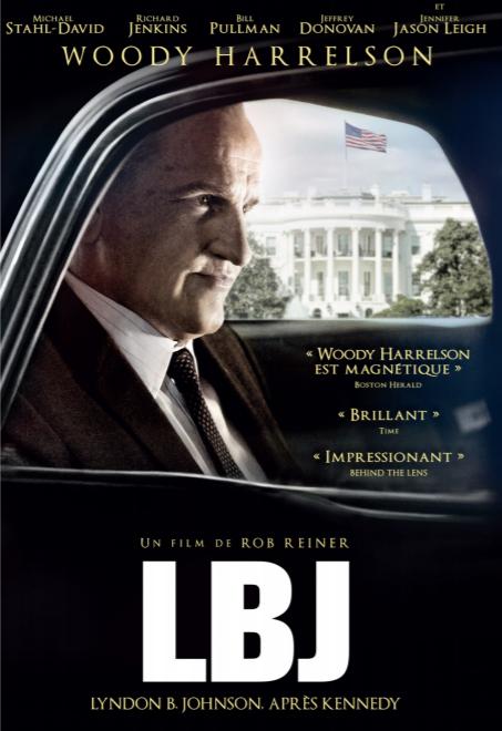 LBJ, Johnson ou le Président de l'ombre en vod, dvd et blu-ray