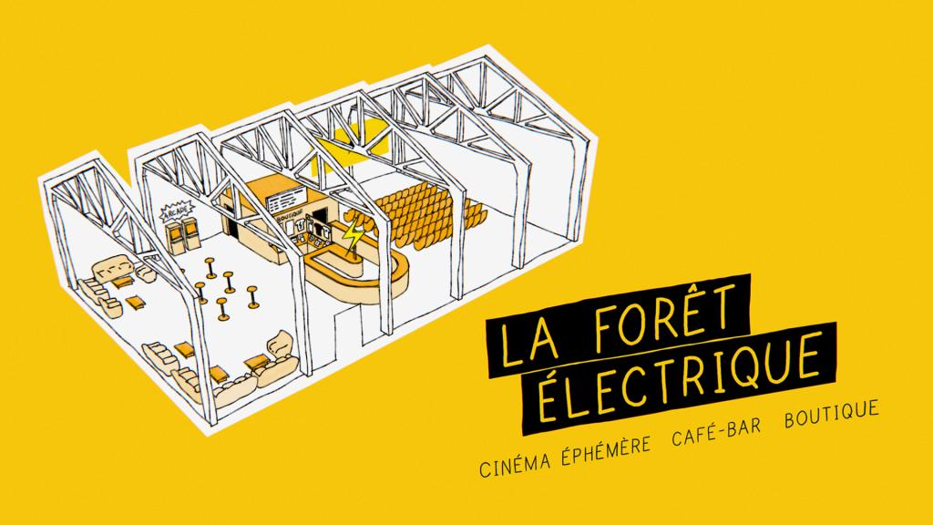 La Forêt Électrique, le cinéma éphémère de Toulouse