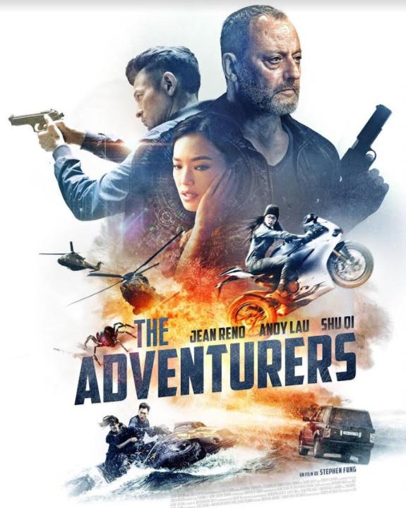 The Adventurers, un film d'action international avec Jean Reno en  vod, dvd et Blu-ray
