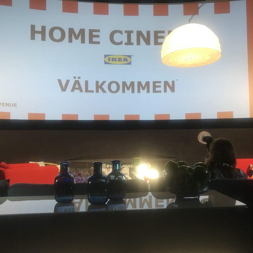 Le home cinéma d'IKEA investit le Max Linder