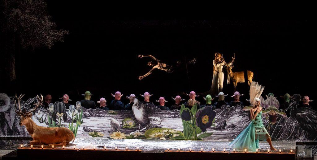 King Arthur de Purcell : la légende ensoleillée par Leonardo Garcia Alarcon et Martial di Fonzo Bo au Grand Théâtre de Genève