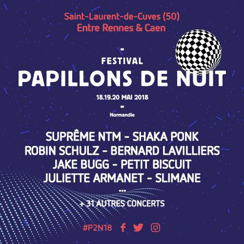 Playlist partenaire – Papillons 2 Nuit