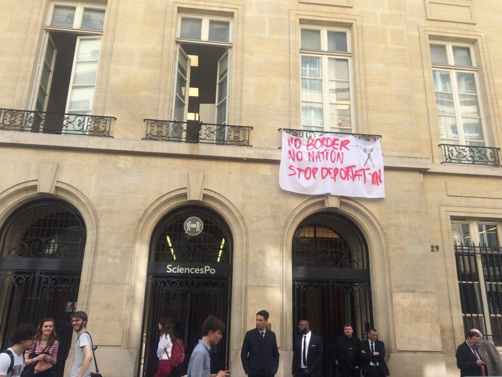 Sciences Po occupé: un mouvement gréviste minoritaire chez les étudiants de l'école