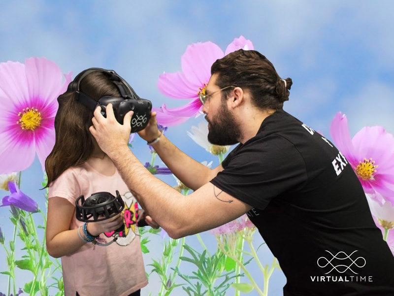 La réalité virtuelle : un jeu d'enfants !