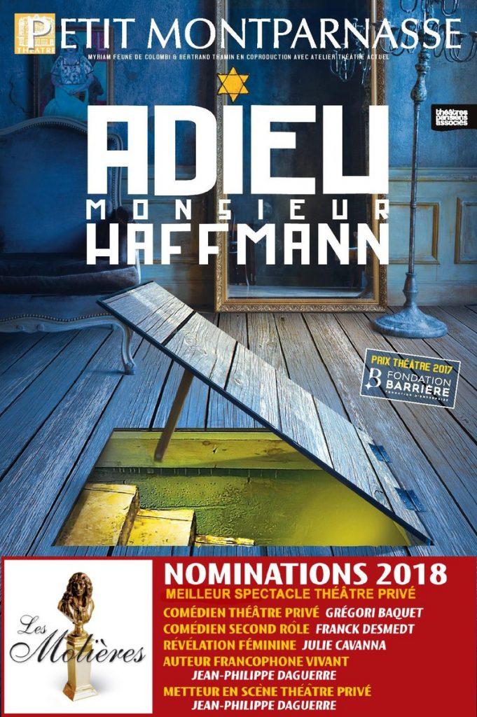 Bouleversant Adieu Monsieur Haffmann au Théâtre du Petit Montparnasse