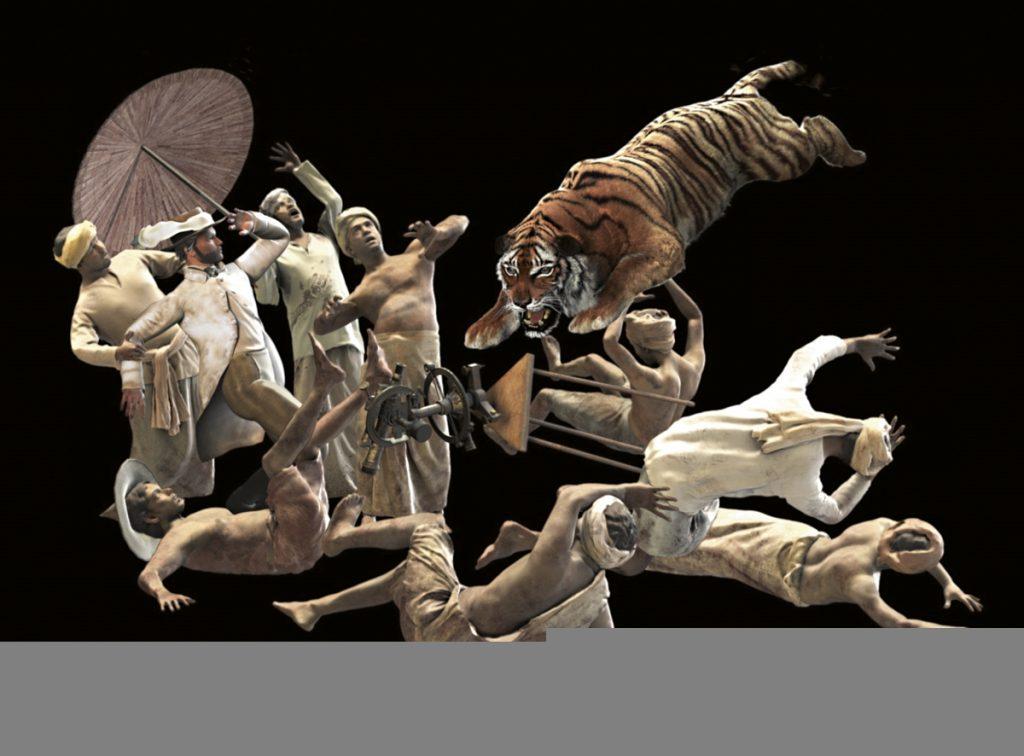 Les tigres de vidéo de Ho Tzu Nyen parlent du rapport humain à l'animal [Kunstenfestival]