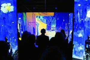 Une des salles du parcours Vision Impressionniste