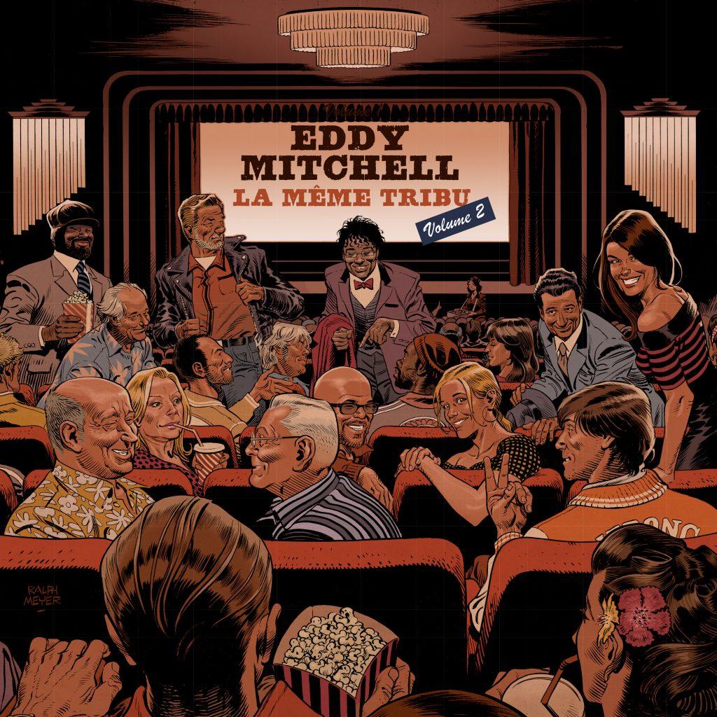 EDDY MITCHELL La même tribu Volume 2