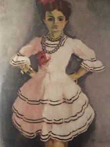 Danseuse Espnagole (future danseuse), vers 1911
