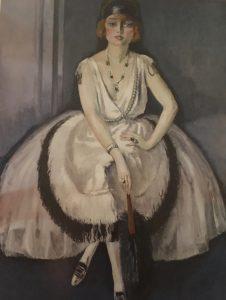Portrait de Madame de Plagny (dit Femme à l'éventail) 1920