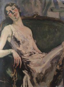 Portrait de Madame Marie-Thérèse Raulet, vers 1925-1930