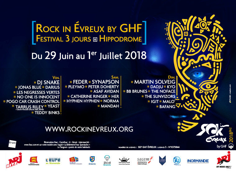 Playlist Partenaire – Rock In Evreux by GHF