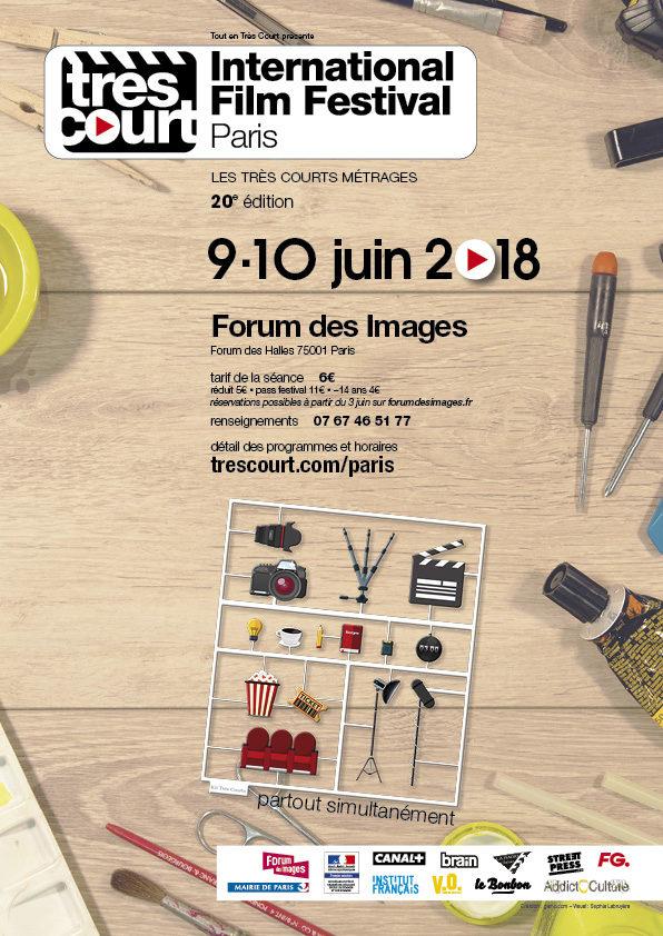 Gagnez 3×2 places pour le Très Court International Film Festival (Paris)